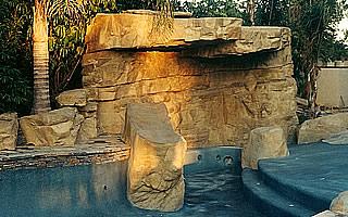 Natural Stones pool design